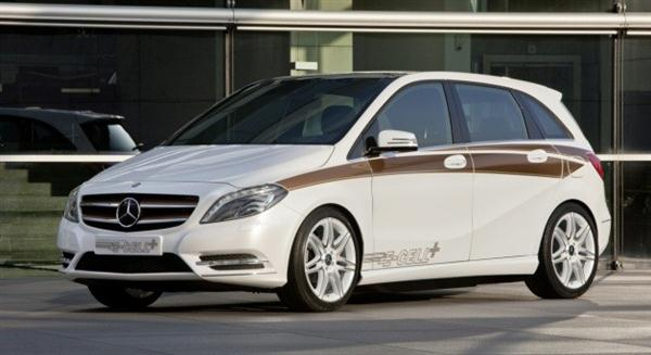 Mercedes-Benz Debuts B-Class E-Cell Plus EV Concept