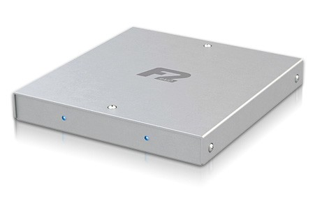 Need RAID? Fusion F2QR packs two 1TB drives into a portable shell