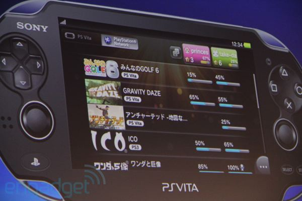 Sony shows off PlayStation Vita's initial setup process and user interface (video)