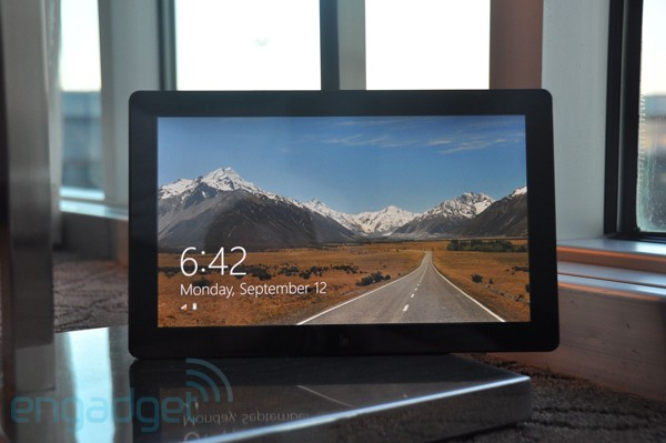 Windows 8 na tabletu (video)