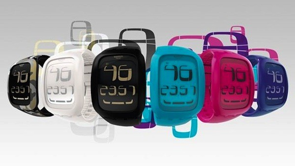 Swatch Touch watch reacts to your, well, you know