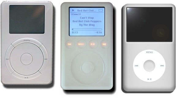 Evolution of the iPod