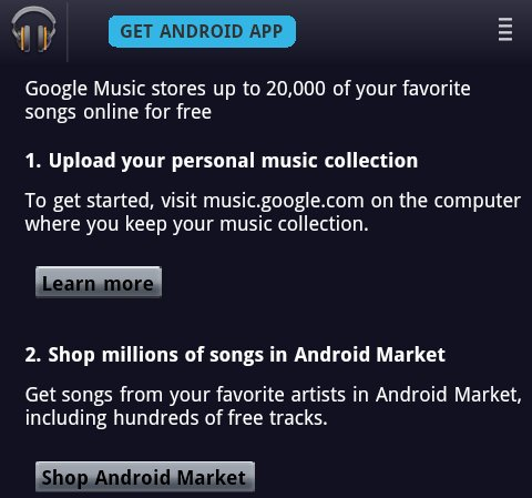Google Music Store?