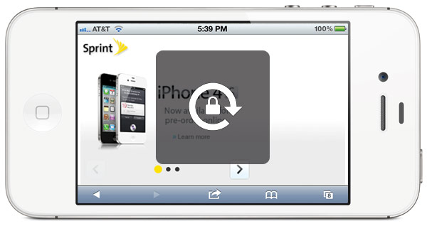 Sprint iPhone 4S Lock