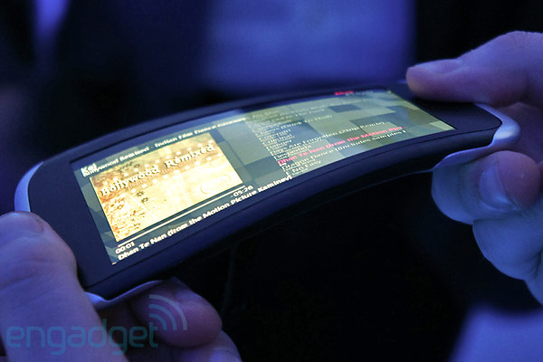 Nokia's kinetic future: flexible screens and a twisted interface (video)