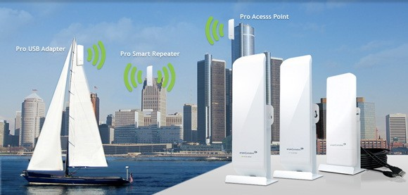 Amped Wireless Gives Your Wifi 1 5 Mile Range Never Lose