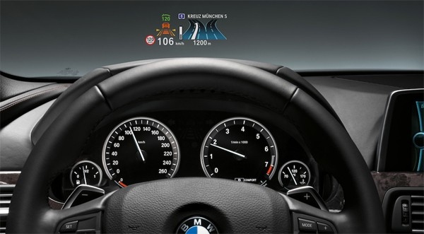 Bmw 3 Series Gets Full Color Heads Up Display