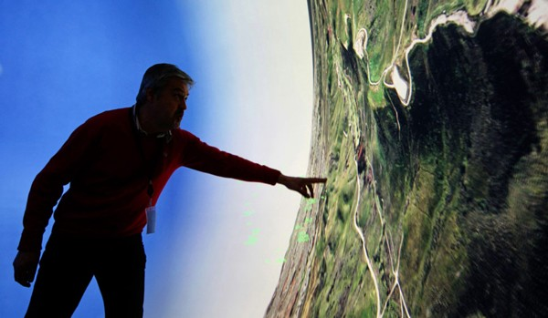 Flight Sim Bubble Offers 360-degree View