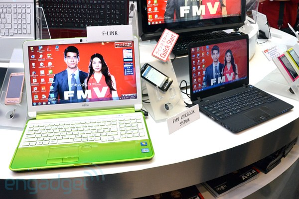 Fujitsu Lifebook AH and SH series hands-on