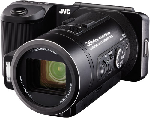 Camera or camcorder? JVC's hybrid GC-PX10 wants to be both