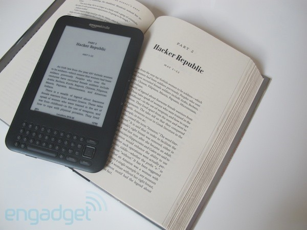 Amazon puts 50MB limit on 3G Kindle's 'free' experimental browser