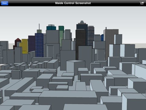 Maide control ipad app lets you build and view 3d models 3d modeling app