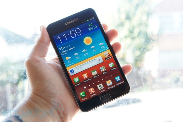 Galaxy Note review top