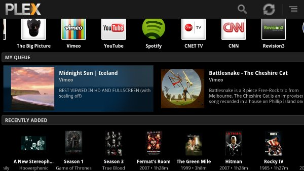 Plex on Google TV
