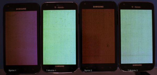 T-Mobile Galaxy S II screen issues