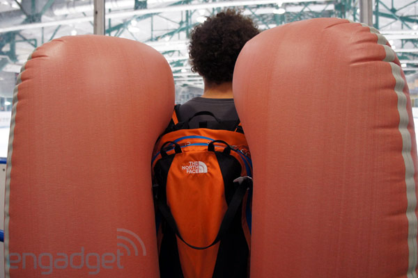 The North Face announces Avalanche Airbag Safety System (ABS) vest and pack, we go hands-on (video)