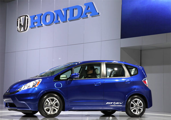 Honda Fit EV rated at 118 MPGe will get you 82 of those on one charge