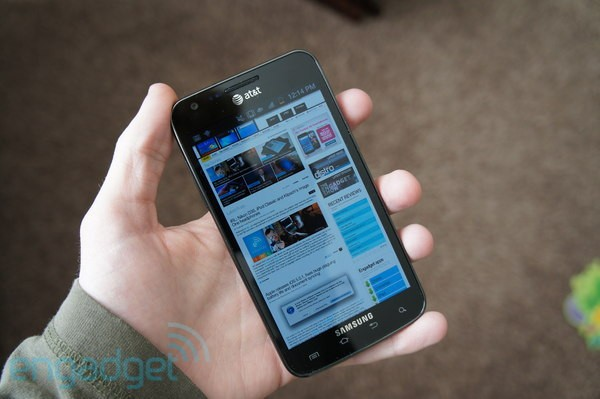 AT&T Samsung Skyrocket updated to ICS