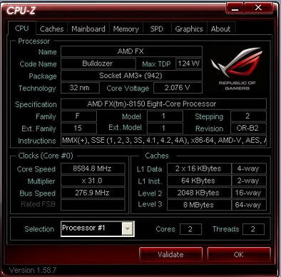 Bulldozer world record re-broken by Andre Yang with a 8.58GHz victory lap