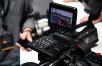 Canon C300 cinema camera hands-on (video)