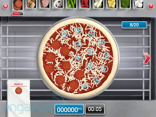Domino's Pizza Hero iPad app coaxes you to design a pie, order one shortly thereafter