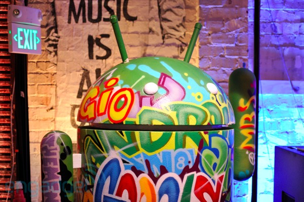 Google Music graffiti Android
