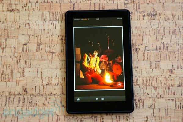 Amazon KINDLE FIRE REVIEW -- Engadget