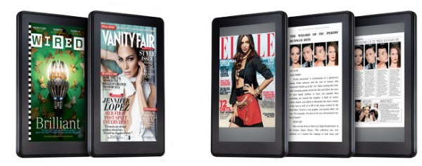 kindle fire mag Amazon bringing 400 magazines, newspapers, flame retardants to Kindle Fire