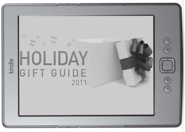 Engadget's holiday gift guide 2011: e-readers