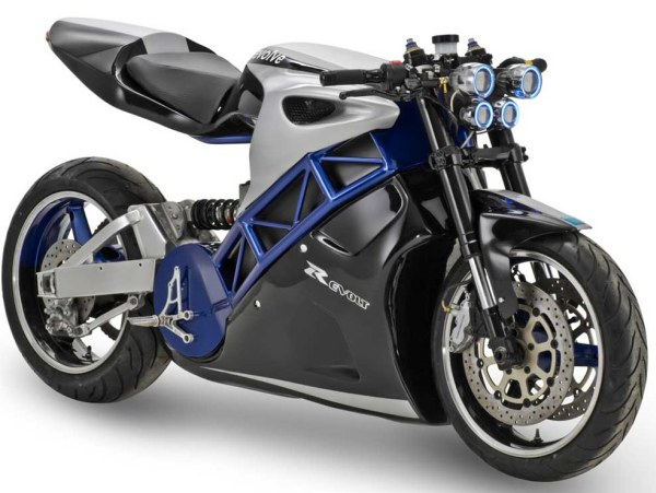 Evolve Motorcycles Shows Off 50k Xenon Lightcycle