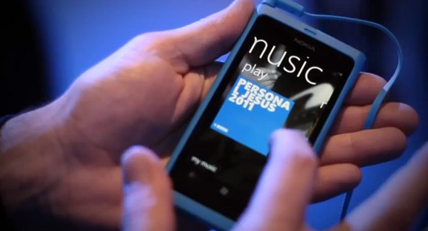 Nokia Music on a Lumia 800