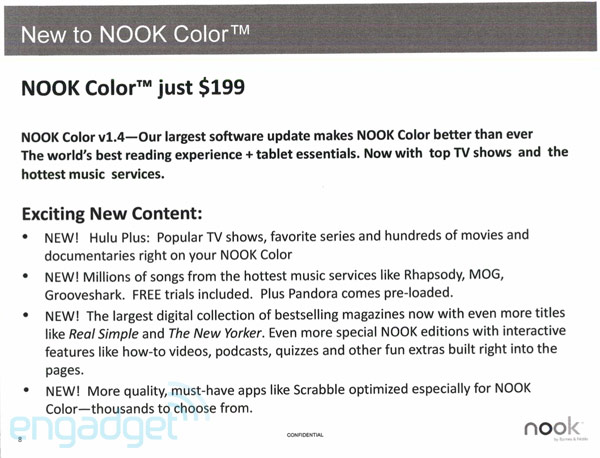 Nook Color firmware 1.4
