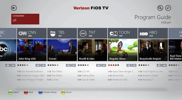 Verizon FiOS TV App
