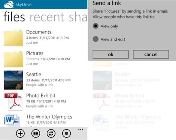 Microsoft launches SkyDrive app for Windows Phone and ...