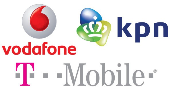 Vodafone, KPN and T-Mobile