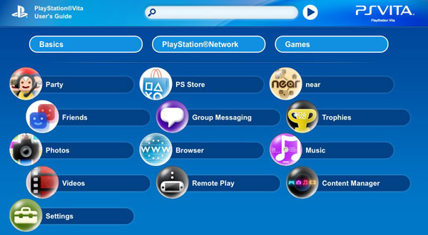 Sony serves up US Vita manual two months early, theoretical gamers rejoice