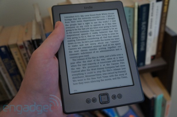 Amazon rolls out software update for $79 Kindle, promises improved legibility