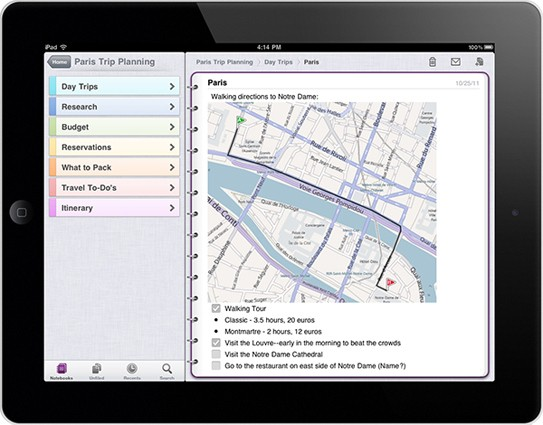 microsoft onenote ipad Top Gadget Links December 13, 2011