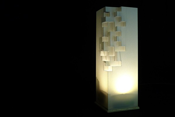 Luminch one an arduino lamp you control with the wave of