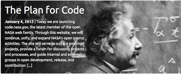 1 7 2011the plan for code   open.nasa NASA goes open source with code portal for agency projects