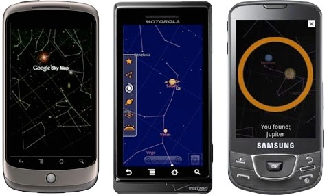 Google Sky Map boldly explores open source galaxy