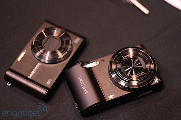 Samsung's WiFi-enabled cameras hands-on