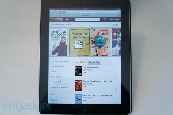 Amazon Kindle Store on iPad
