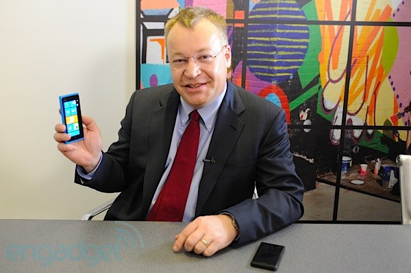 Nokia's Stephen Elop at CES 2012