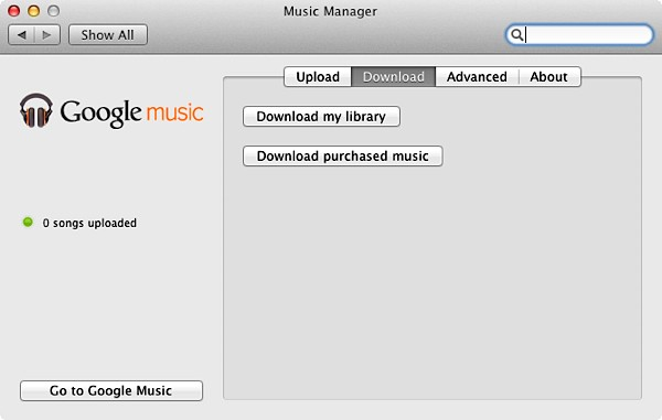 Google music now lets you download your entire library