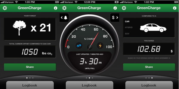 Green Charge: an app that helps your EV talk to you (video)