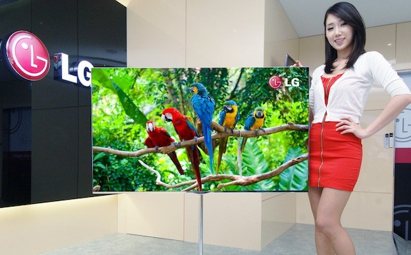 lg details 55 inch oled tv will show off its true colors at ces 2012. Black Bedroom Furniture Sets. Home Design Ideas