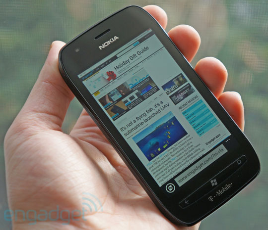 "Engadget Reviews T-Mobiles Lumia 710 Claims it's ""Must Have"""