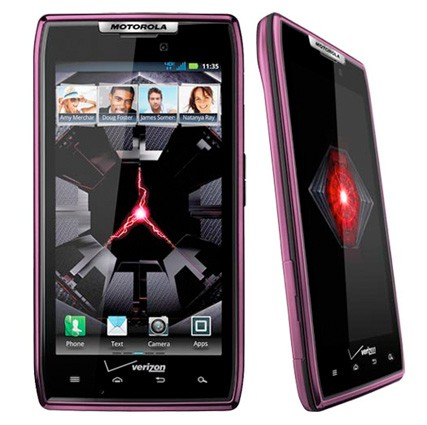 Verizon's Droid RAZR gets violet coat of paint, price tumbles to $200 on contract