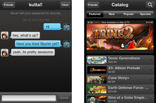 Steam beta journeys to Android and iOS, for select invitees